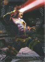 2018 Upper Deck Marvel Masterpieces Base Set Card #66 Cyclops /999