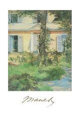 Edouard Manet Casa a Rueil Poster Kunstdruck Bild 50x70cm
