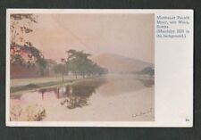 Vintage 1927 Postcard - Mandalay Palace, Moat and Wall, Burma (Myanmar)
