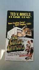 The Corpse Grinders VHS Tape Vintage Horror Walterscheid Productions - Gore