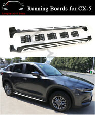 Fits for Mazda CX-5 CX5 2017-2020 Running Boards Side Step Nerf Bars Protector