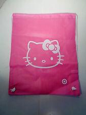 Hello Kitty Drawstring Bag Backpack Purse Pink Target Swim