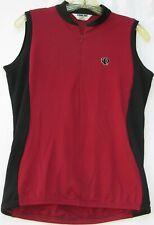 Pearl Izumi sleeveless ultra sensor cycling jersey w/ 3 pockets women's large