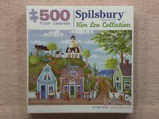 "Spilsbury Puzzle ""Seaside Stroll"" Kim Leo Collection 500 Pcs, 18""x24"" FREE SHIP!"