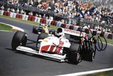 Stefan Johansson SIGNED  Footwork-Porsche FA12 , Canadian GP  Montreal 1991