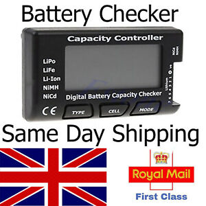 LiPo Lipo Battery Checker Capacity Voltage Tester Meter LiFe Li-ion NiMH RC lipo