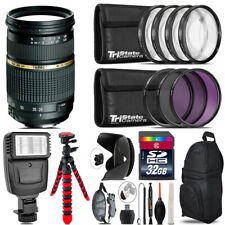 Tamron 28-75mm Lens for Canon + Flash +  Tripod & More - 32GB Accessory Kit