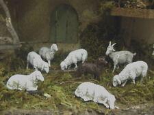 Nativity Scene Sheep Goat Dog Animal Figurines Landi Presepio Animales Pesebre