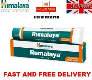 Himalaya Herbals Rumalaya Gel Joints Muscle Pain Relief Back Knee Neck Shoulder