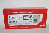 Herpa 083812  Fahrgestell Tandemhänger Meiller-Kipper   1:87 H0 NEU in OVP