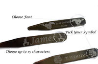 Personalised Premium Metal Collar Stays , Stiffeners Unique Gift -