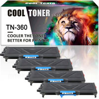 4PK for Brother TN360 TN-360 Toner HL-2140 HL-2170W MFC-7340 MFC-7840W MFC-7320