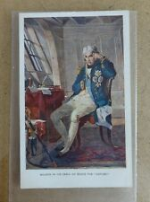 """Nelson in his Cabin on board the """"Victory"""", Cassell's Art postcard"""