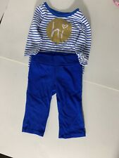 Okie Dokie Baby Girl Clothing Size 3 Month Shirt and Pant