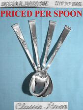 Reed & Barton Sterling Dessert Spoon(S) ~ Classic Rose ~ No Mono