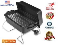 Propane Gas Grill Char Broil Steel BBQ Barbecue Portable Outdoor Mini Small New