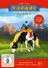 2 DVDs *  YAKARI - Staffel 2  ZUR TV-SERIE # NEU OVP &
