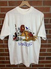 Disney The Lion King Movie Promo T Shirt Mens L Simba 90s Rare