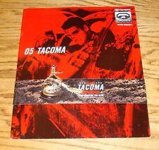 Original 2005 Toyota Tacoma Sales Brochure 05