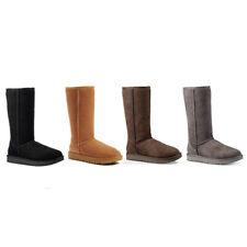 Ugg женские Classic высокие из натуральной овчины II ботинки с подкладкой