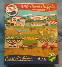 FACTORY SEALED! Pepsi Air Show 550 piece Puzzle 18