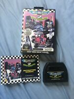 Sega Micro Machines 2 Turbo Tournament Mega Drive System Boxed Retro Instruction