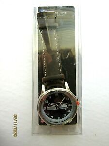 Seattle Seahawk's Classic Men's Sport Watch-Brown Leather Band-New in Packaging