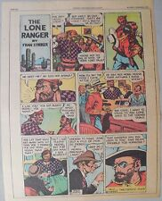 Lone Ranger Sunday Page by Fran Striker and Charles Flanders from 11/7/1943