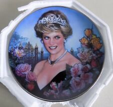 The Franklin Mint DIANA, Princess of Wales FOREVER OUR PRINCESS Collector Plate