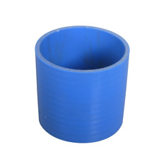"""CXRacing 3"""" Blue Silicon Hose Coupler Straight 3"""" Long For Intercooler Pipe"""
