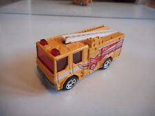 Matchbox Dennis Sabre Fire Truck in Yellow