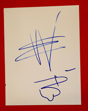 Eric Wilson Bassist of Sublime Hand Drawn Signed Autographed Sketch Drawing A