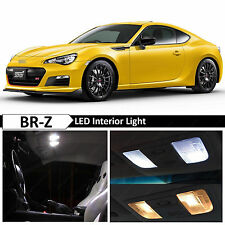 10x White Interior LED Package Kit for 2013 - 2017 Subaru BRZ BR-Z