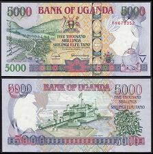 UGANDA 5000 SHILLINGS (P44b) 2005 UNC