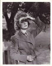 GREER GARSON Original Vintage 1942 MRS. MINIVER MGM Studio Portrait Photo