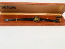 Microma New Old Stock Vintage Women's Digital Quartz Wrist Watch (LR721-M)