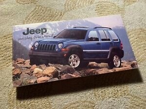2005 Jeep Liberty OEM owners manual