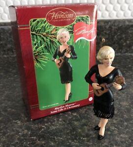 Carlton Heirloom Christmas Ornament Marilyn Monroe Some Like It Christmasy NIB
