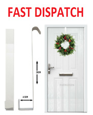 Christmas Winter Wreath Door Hanger Metal Hook Xmas Decoration Reef Craft 28cm