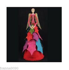 Gisela Graham 28cm angelical MODAS Hada árbol de Navidad Topper Decoración