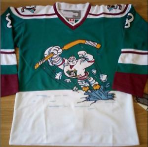 Anaheim Mighty Ducks Teemu Selanne Jersey M, L, XL, 2XL, 3XL
