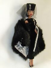 """Fashion Doll """"Eclipse"""" African Am by Lloyd McMillon with stand -12 inches"""