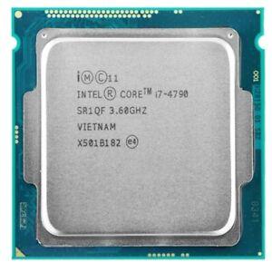 Intel Core i7-4790 3.60GHz Quad Core 8MB Processor LGA1150 SR1QF Tested Working
