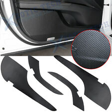For Toyota Camry 2018-2020 Pu Leather Door Anti Kick Pad Protective Cover Trims