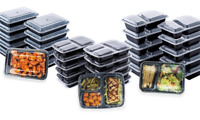 Reusable Box Food Storage Container Set Microwavable Lid Bento Home Lunchbox