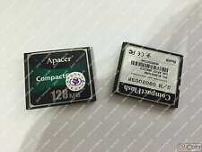 100% test Apacer 128Mb CompactFlash Cf Card (by Dhl or Ems) #J1688