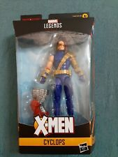 Marvel Legends Age Of Apocalypse Set Cyclops. New In Box With COLOSSUS BAF PIECE