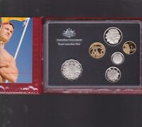 2007 Australia Proof Coin Set in Folder with outer Box & Certificate