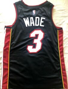 Dwyane Wade Miami Heat authentic Nike black stitched 2017 2018 jersey NEW W/TAGS