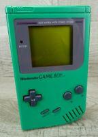 Nintendo GameBoy Green Handheld Console Tested DMG-01 Vintage 1989 Game Boy